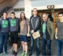 Group of students from Hackathon